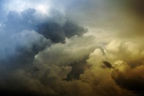 La formation de l'orage