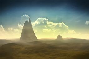 Les pics du désert