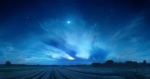 Il y avait quelque chose dans le ciel...